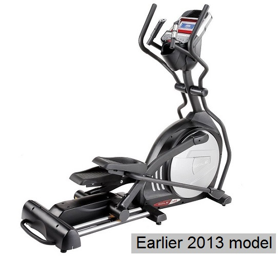 sole e25 elliptical full view 2013 model