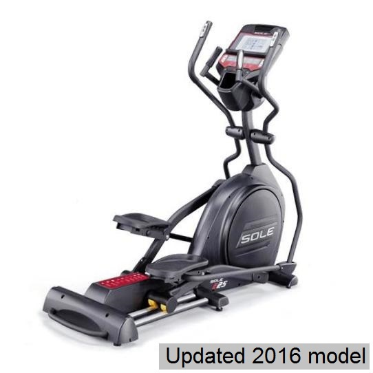 sole e25 elliptical full view 2016 model