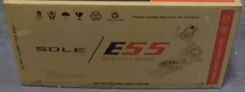 sole e55 elliptical box