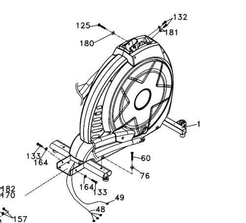 sole e55 elliptical flywheel