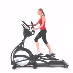 women on elliptical exercise machine 250px